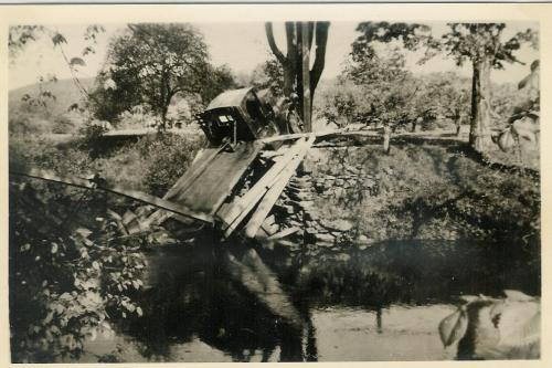 1972.47.18 Truck Accident on Brokow Bridge in Nepaug
