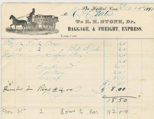2012.1.48 E.H.Stone invoice