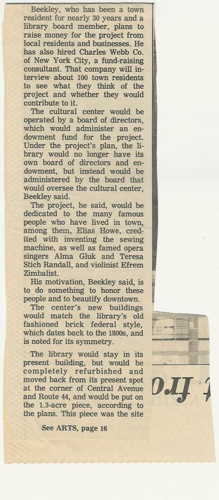 2010.299.9.71 Arts Center Could Shine Downtown, Article, Page 2