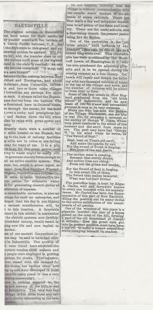 2012.1.19 Bakerville newsarticle