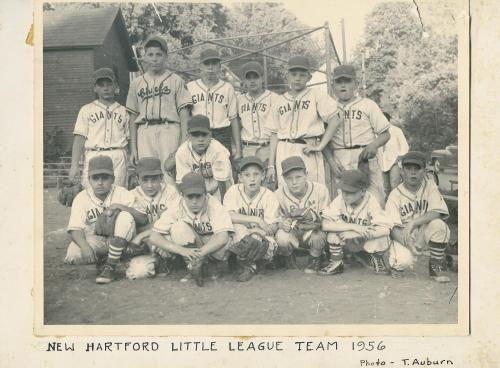 New Hartford Little League Team 1956